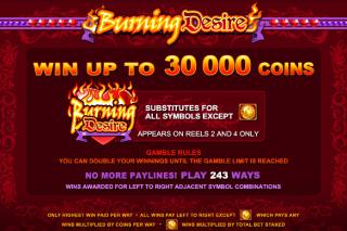 Burning Desire Substitutes