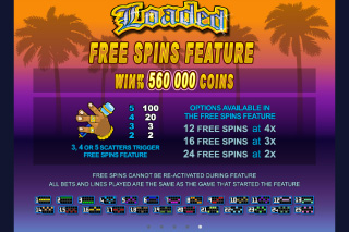 Loaded Free Spins