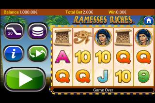 Ramesses Riches Screenshot