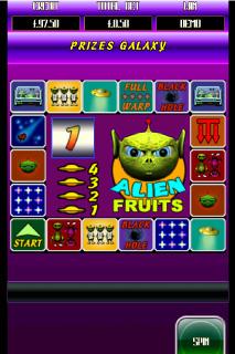 Alien Fruits Bonus Game
