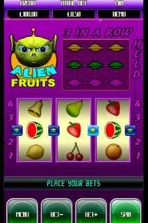 Alien Fruits Screenshot