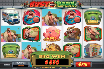 Bust The Bank - New Microgaming Video Slot Launched