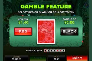 Cashapillar Slot Gamble Feature
