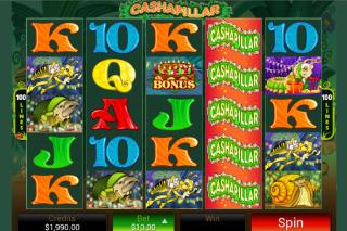 Cashapillar Slot Screenshot