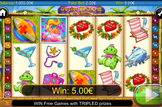 Doctor Love on Vacation Slot Win