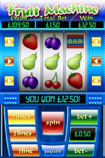 Fruit Machine Win