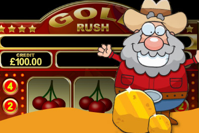 Gold Rush mFortune Mobile Slot