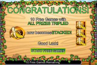 Mad Mad Monkey Free Spins