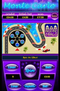 Monte Carlo Bonus Game