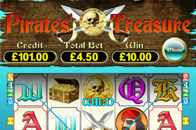 Pirates Treasure Mobile Slot