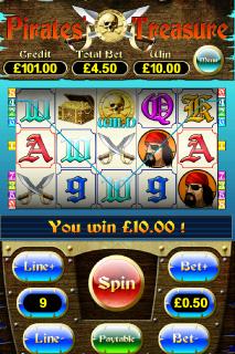 Pirates Treasure Win