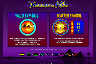 Treasure Nile Slot Features