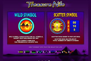Treasure Nile Slot Features