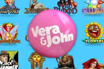 Get up to 70 Free Spins at Vera&John Casino