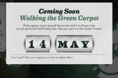 Mr Green - Walking The Green Carpet, Coming May 14th
