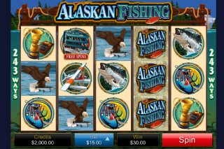 Alaskan Fishing Mobile Slot Screenshot
