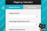 Casino Bonus Wagering Calculator