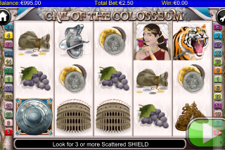 Call of the Colosseum Mobile Slot Screenshot