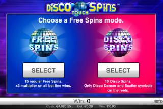 Disco Spins Bonus