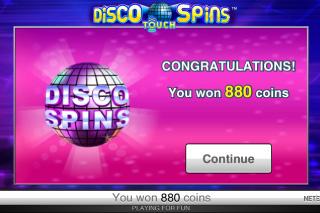 Disco Spins Win