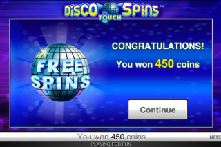 Disco Spins Free Spins Win