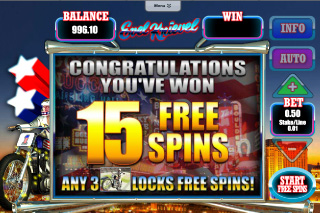 Evel Knievel Free Spins