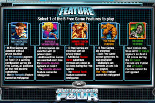 Fantastic Four Bonus Features