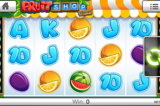 Fruit Shop Touch Mobile Slot Screenshot