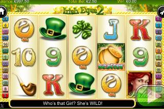 Irish Eyes 2 Mobile Slot Screenshot