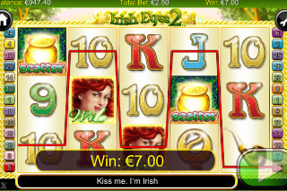 Irish Eyes 2 Wild Win