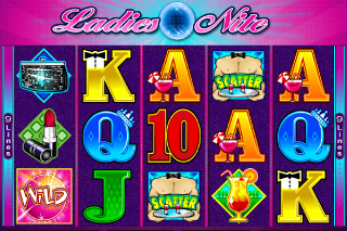 Ladies Nite Mobile Slot Screenshot