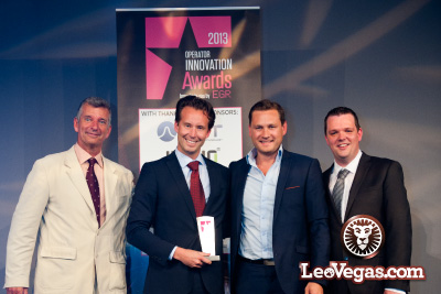 Leo Vegas Mobile Casino Win Best Innovation in Casino Award