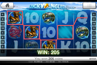 Lucky Angler Win