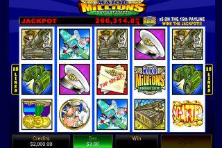 Major Millions Mobile Slot Screenshot