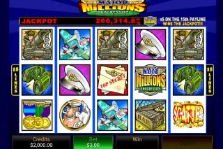 Major Millions Mobile Slot Screenshot