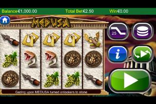 Medusa Mobile Slot Screenshot