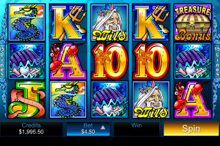 Mermaids Millions Mobile Slot Screenshot