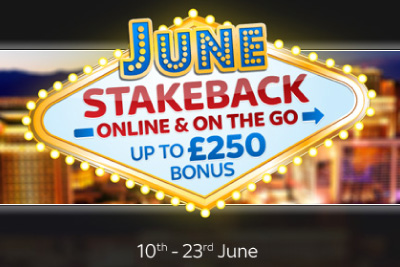 Get Rewarded for Playing at Sky Vegas in the June Stakeback
