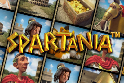 Spartania Mobile Slot Screenshot
