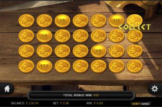 Spartania Bonus Game