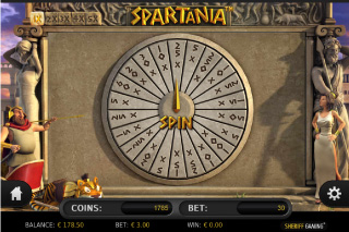 Spartania Wheel of Fortune
