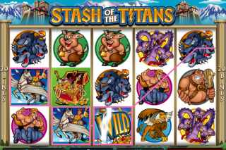 Stash of the Titans Wild Win