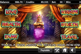 Three Wishes Bonus Round