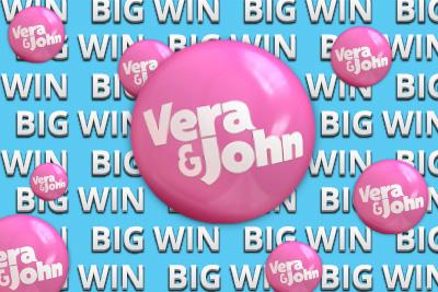Andreas doubles his winnings at Vera&John casino