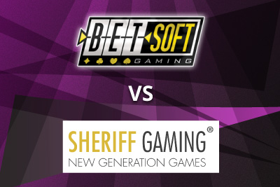 BetSoft vs Sheriff Gaming - Who will win the battle of the mobile slots this summer?