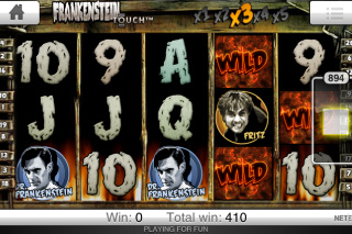 Frankenstein Touch Free Spins