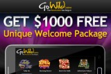 Go Wild Mobile Casino of the Month - 200% up to 200 Bonus