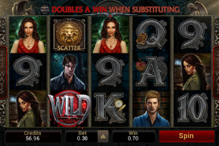 Immortal Romance Mobile Slot Screenshot