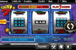 Lucky 7 Mobile Slot Win