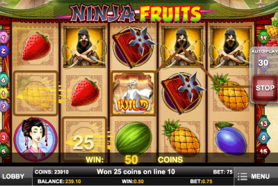 Play Ninja Fruits Mobile Slot Exclusively at Leo Vegas